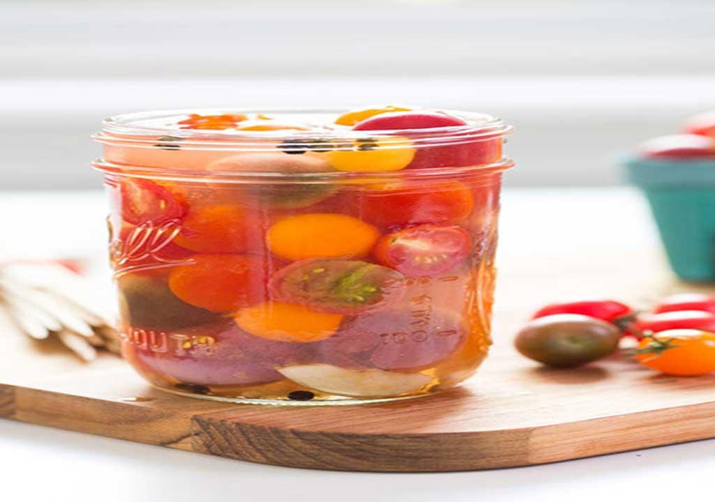ترشی گوجه گیلاسی - ترشی میوه